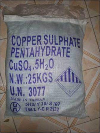 CuSO4.5H2O  Copper Sulphate
