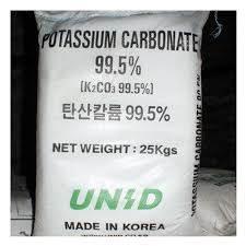 K2CO3 - Kali cacbonat