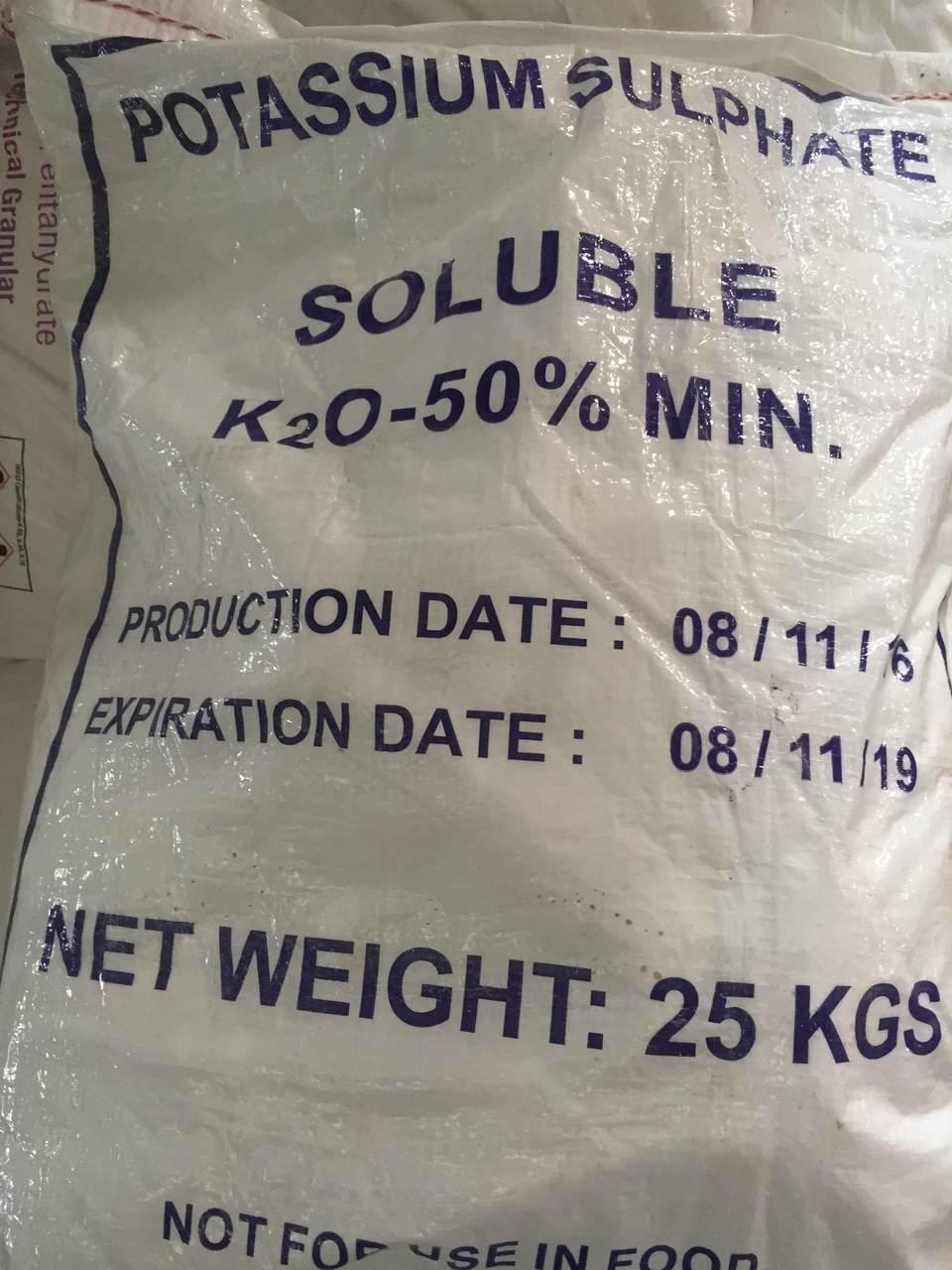 K2SO4-Kali Sulfate