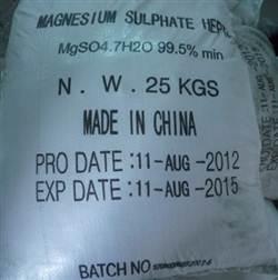 Magie sulphate-MgSO4