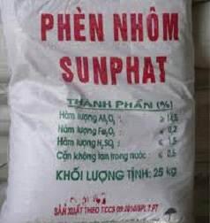 Phèn nhôm Aluminium sulfate AL2(SO4)3